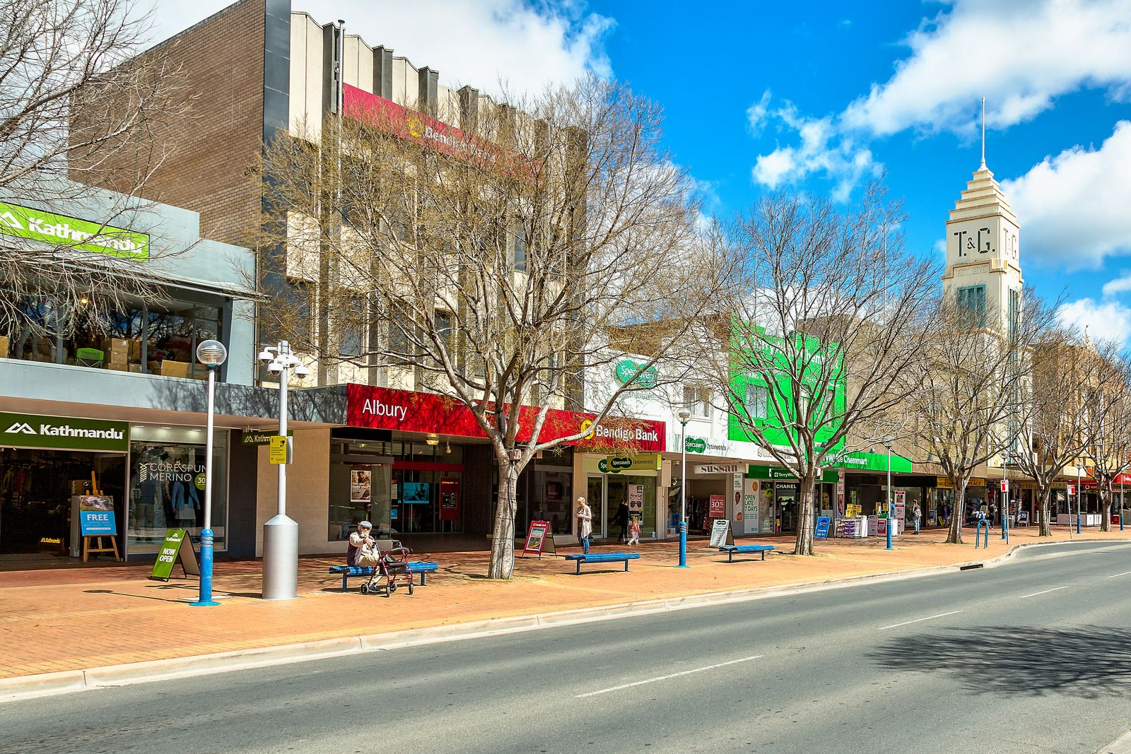 Agents bank on top price for Albury CBD site