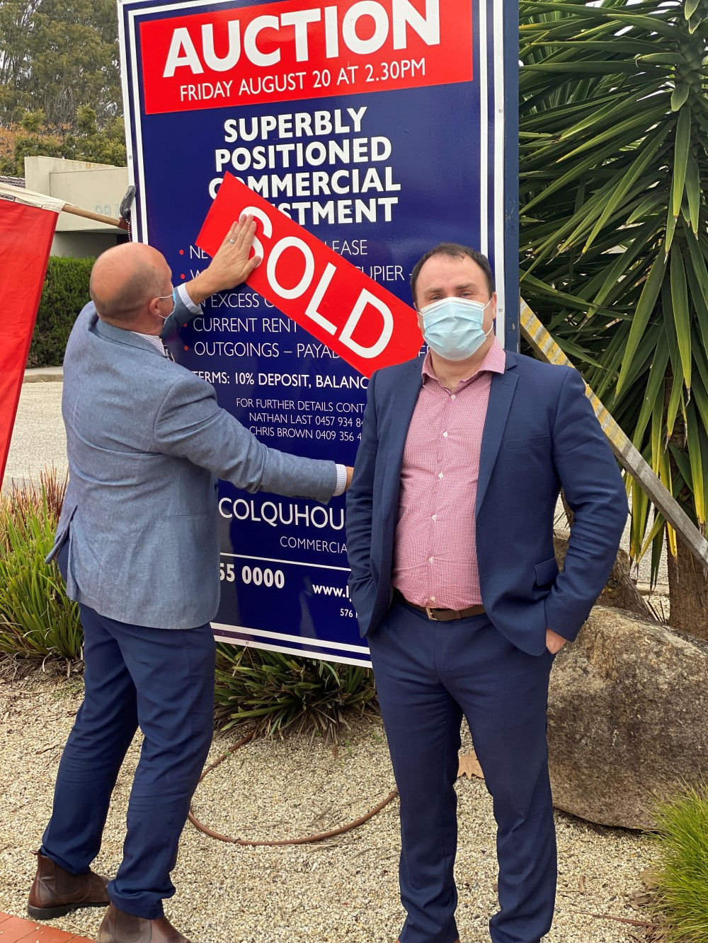 EDM Group base in Wodonga sells at Auction for $1.61 million